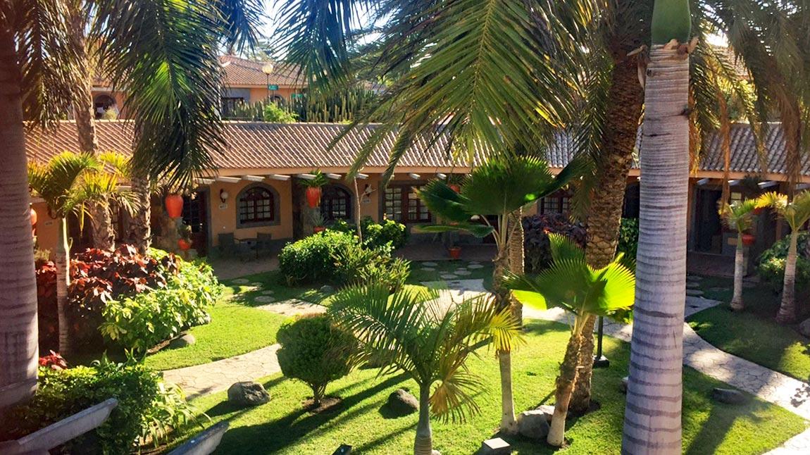 Rennradurlaub Gran Canaria Dunas Suites & Villas Resort Maspalomas - Wohnen unter den Palmen