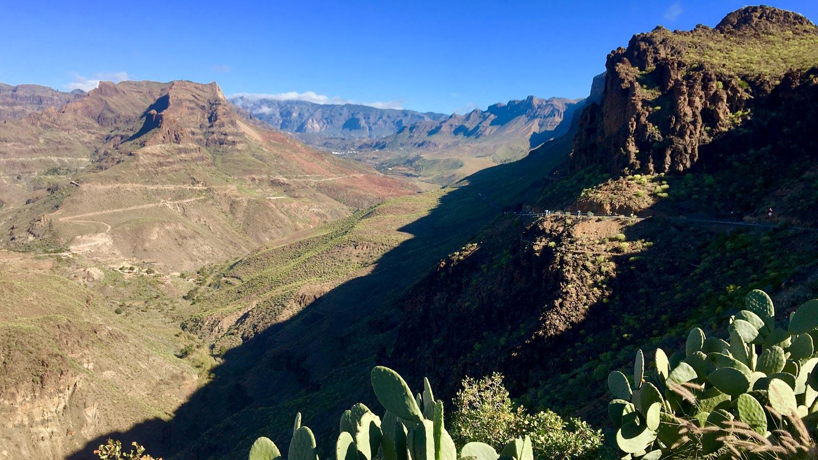 Rennradreise Gran Canaria - 6 geführte Touren in bis zu drei Stärkeklassen - Highlight ist der Pico de las Nieves mit grandioser Aussicht bis nach Teneriffa